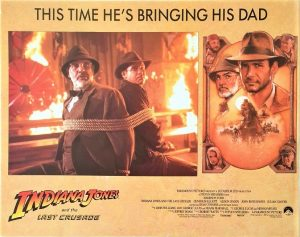 Indiana Jones and the last crusade US Lobby Card 1989