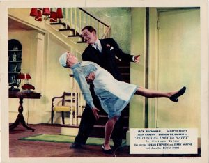 As Long as They're Happy 1955 UK front of house lobby card with Diana Dors (1)
