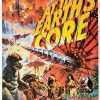 At the earth's core UK one sheet poster by Tom Chantrell with Peter Cushing and Doug McClure (10)