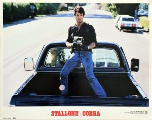 Cobra US Lobby Card with Sylvester Stallone and Brigitte Nielsen (7)