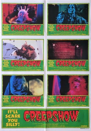 Creepshow Australian Lobby Card One Sheet movie poster (2)