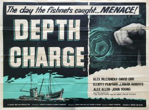 Depth Charge UK Quad Poster 1960