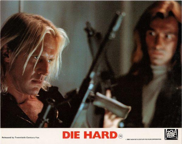 Die Hard UK 8 x10 inch Lobby Card 1988 (2)