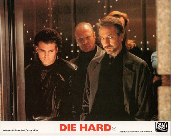 Die Hard UK 8 x10 inch Lobby Card 1988 (2)