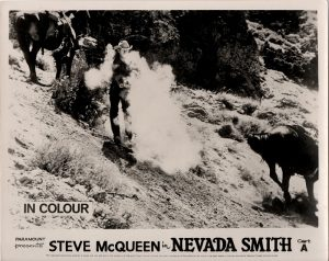 Nevada Smith UK front of house card still with Steve McQueen 1966