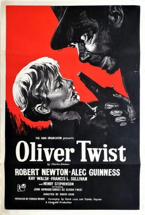 Oliver Twist Uk one sheet poster with Alec Guinness and Robert Newton by David Lean (6)