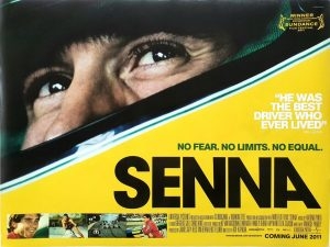 Senna UK Quad Poster 2010