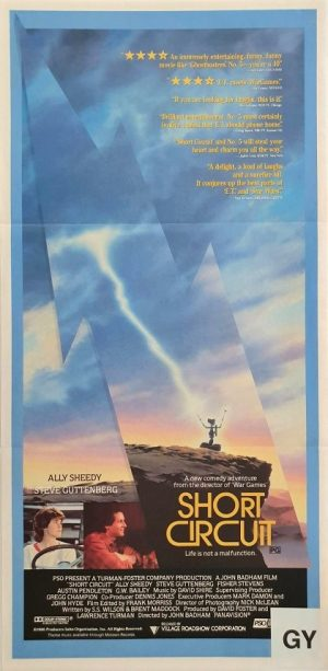 Short Circuit australian daybill movie poster (2)
