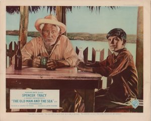 The Old Man and the Sea 1958 UK front of hobby lobby card with Spencer Tracy