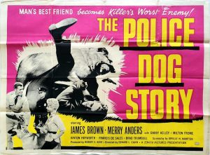 The Police Dog Story 1961 UK Quad Poster (2) German Shepherd K9