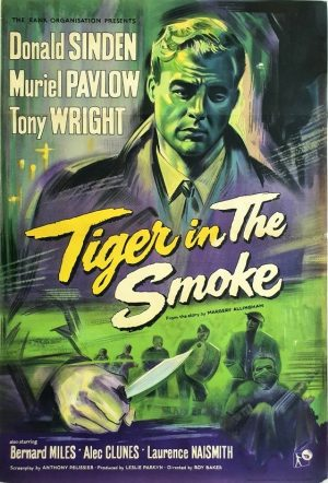Tiger In The Smoke UK One Sheet poster with Donald Sinden 1956