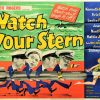Watch Your Stern 1960 UK Quad Poster with Sid James, Kenneth Connor, Eric Barker, Leslie Phillips (2)