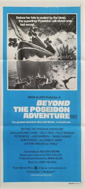 beyond the poseidon adventure australian daybill movie poster (2)