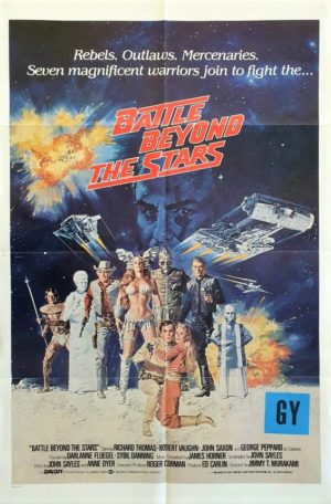 Battle beyond the stars One Sheet movie poster