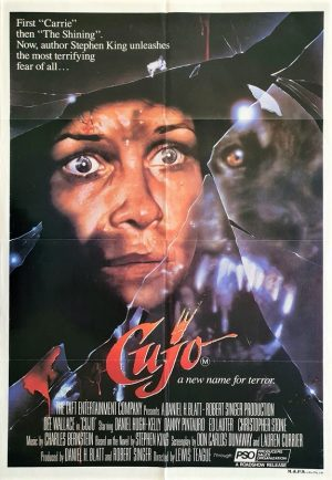 Cujo australian one sheet movie poster by Stephen King (1)