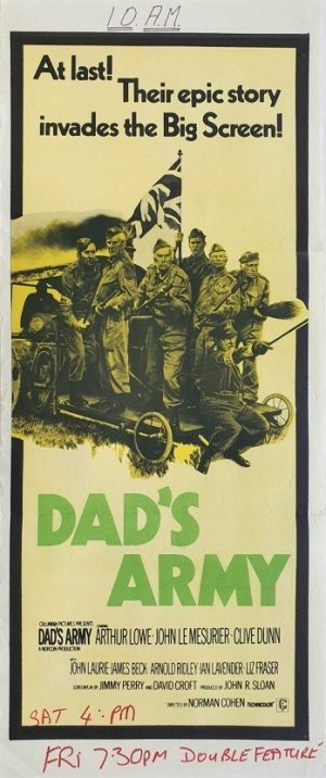 Dad's Army Australian daybill poster (2)