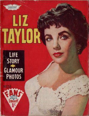 Fans Star Library No 35 Elizabeth Taylor