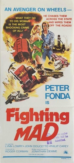 Fighting Mad Australian daybill poster with Peter Fonda (8)