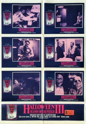 Halloween 3 the season of the witch australian lobby card style one sheet movie poster 2 (11)