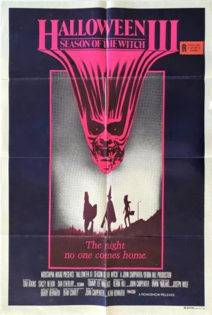 Halloween 3 the season of the witch australian one sheet movie poster (2)
