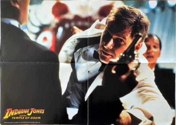 Indiana Jones and the Temple of Doom US scene poster