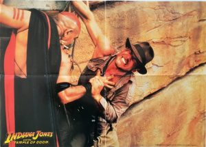Indiana Jones and the Temple of Doom US scene poster
