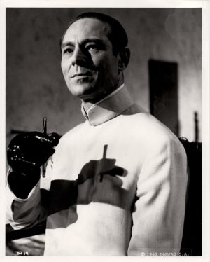 Joseph Wiseman Dr No. James Bond still 8 x 10 rerelease 70s or 80s