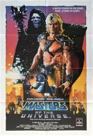 Masters of the Universe Australian One Sheet movie poster