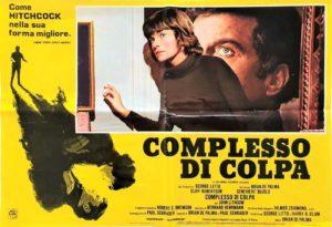 Obsession (Complesso Di Colpa) 1976 Italian Photobusta by Brian De Palma