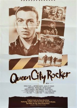 Queen City Rocker NZ One Sheet movie poster 1986