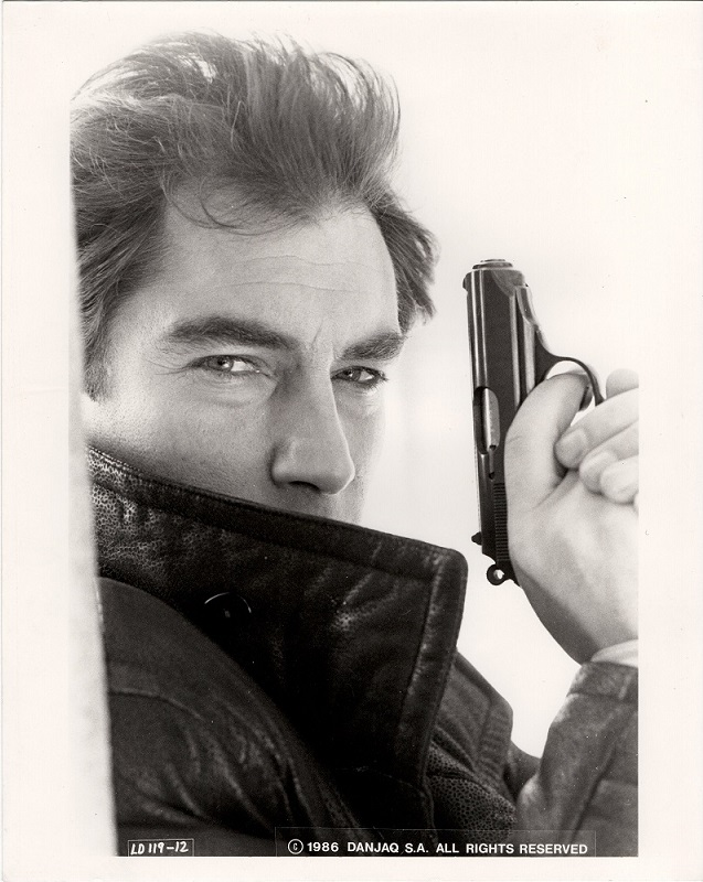The Living Daylights James Bond 007 production Still with Timothy Dalton etc. (14)