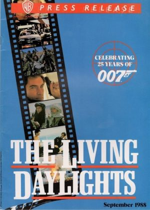 The Living Daylights James Bond 007 25 years of bond Video press release
