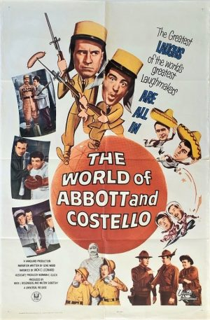 the world of Abbott and Costello US one sheet poster