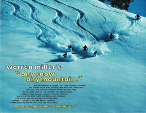 Any snow, any mountain flyer 1971 Warren Miller