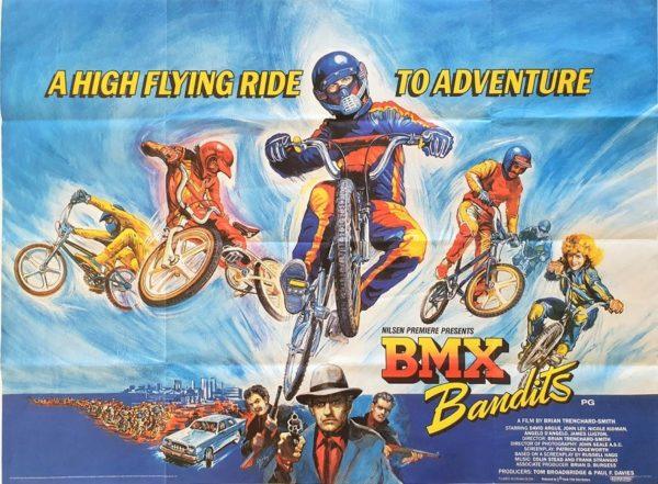 BMX Bandits UK Quad Poster