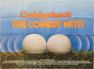 Caddyshack UK Quad Poster