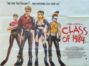 Class of 1984 UK Quad Poster