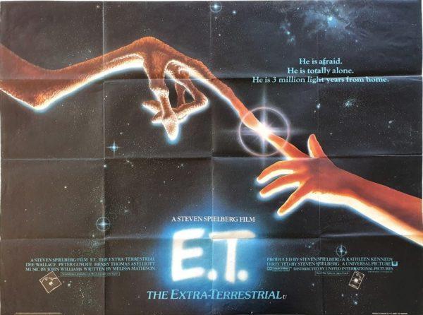 E.T UK Quad Poster