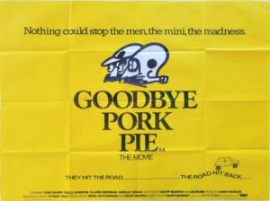 Goodbye Pork Pie UK Quad Poster 1980