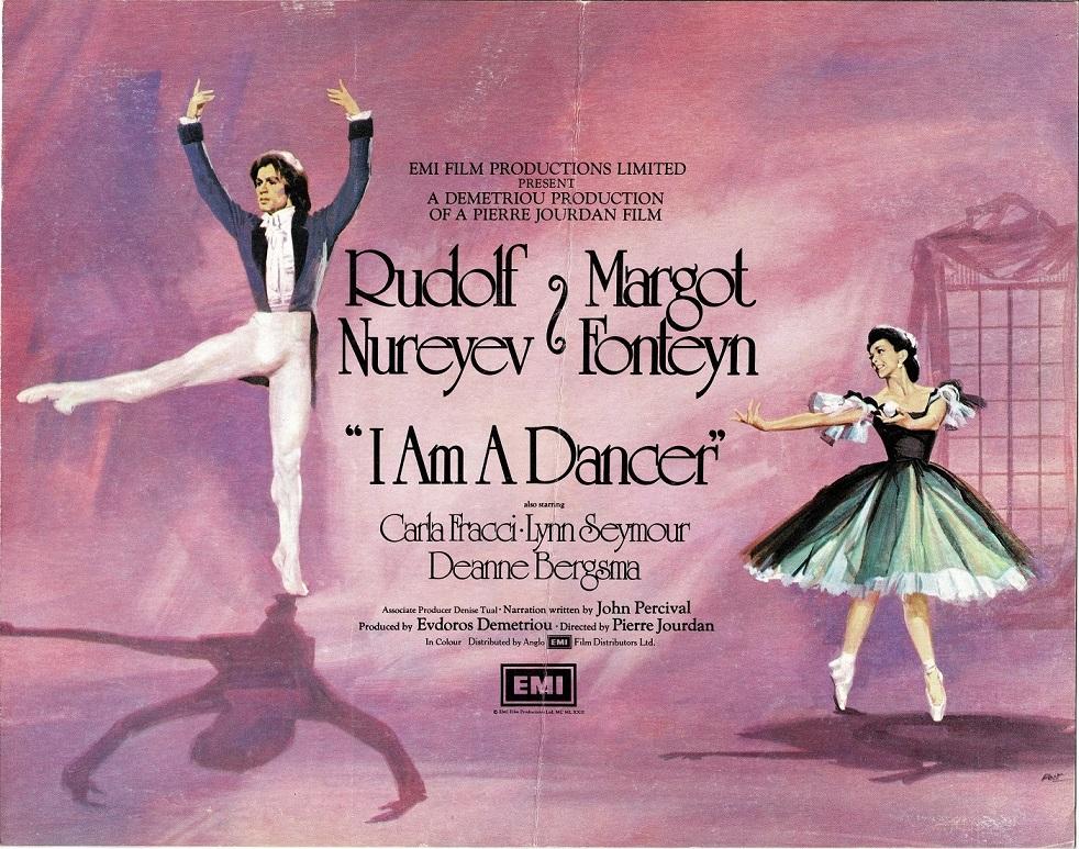 I Am A Dancer UK Campaign Book with Rudolf Nureyev and Margot Fonteyn (1)