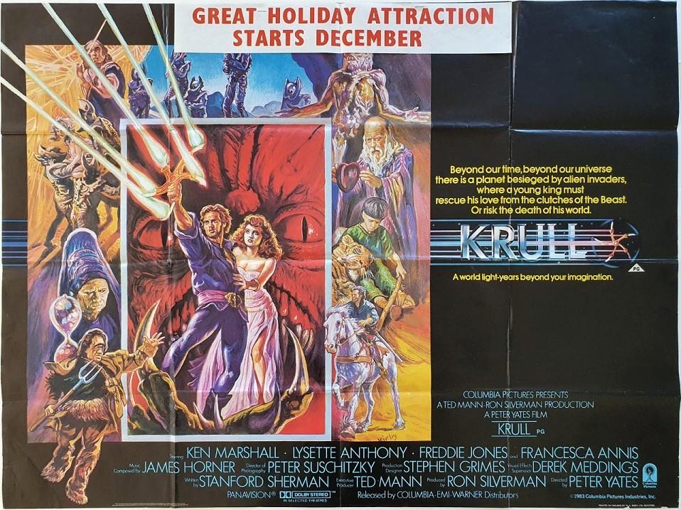 Krull UK Quad Poster