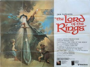 Lord Of The Rings UK Quad Poster