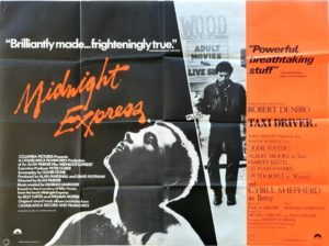 Midnight Express and Taxi Driver UK Quad Poster