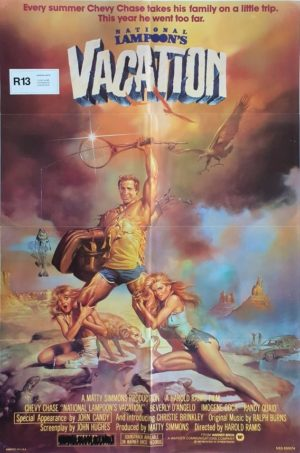 National Lampoon's Vacation US One Sheet movie poster