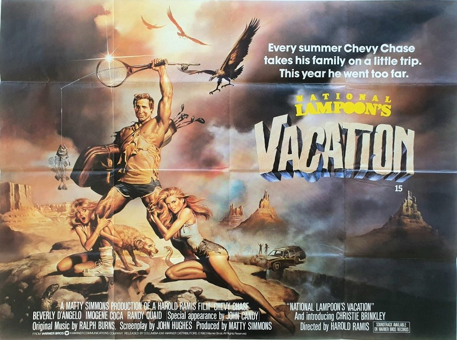 National Lampoon's Vaction UK Quad Poster