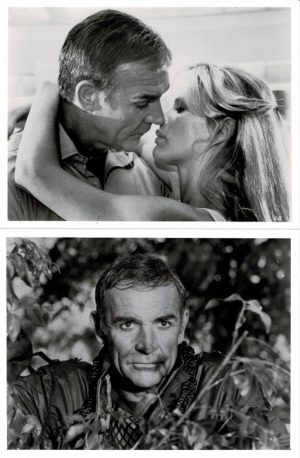 Never Say Never Again James Bond 007 Still with Sean Connery 1983