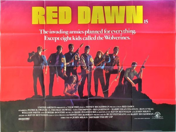 Red Dawn UK Quad Poster (13)