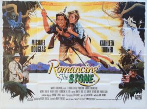 Romancing the stone UK Quad Poster