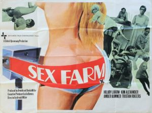 Sex Farm UK Sexploitation Adult Quad Poster by Tom Chantrell (4)