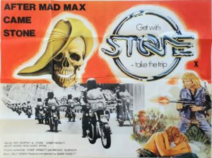 Stone UK Quad Poster by Tom Chantrell